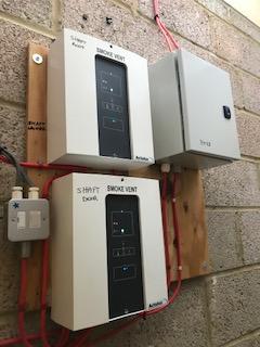 Smoke Vent Panel Installation Surrey